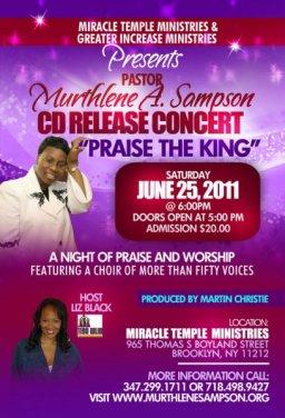 CD Release Concert