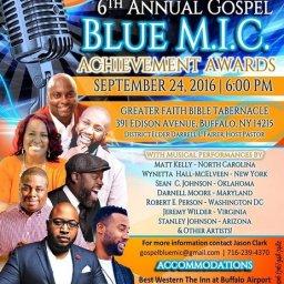 6th Annual Gospel Blue M.I.C. Achievement Awards