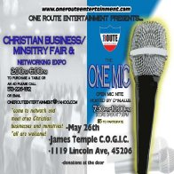 Christian Business/Ministry Fair and Networking Expo and the ONE MIC open mic nite