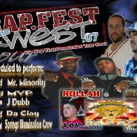 Rapfest of the West tour