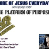 the Platform Of Purpose