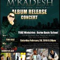 M'Kadesh CD Release Concert