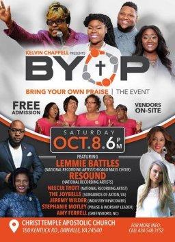 B.Y.O.P -Bring Your Own Praise