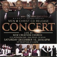 Men 4 Christ CD Release Concert