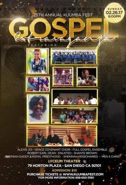25th Annual Kuumbafest Gospel Extragavangza