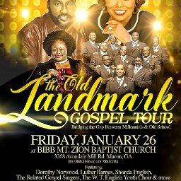 The Old Landmark Concert Tour