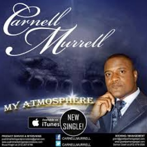 Carnell Murrell My Atmosphere CD Cover