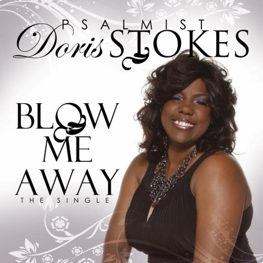 Psalmist Doris Stokes Blow Me Away CD COver