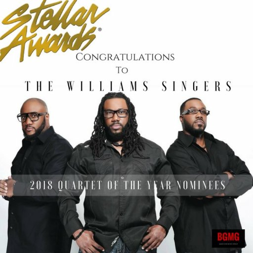 The Williams Singers Stellar Gospel Music Award Nominees Quartet Group of The Year 2018